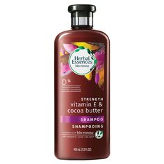 Herbal Essences Bio:renew Vitamin E with Cocoa Butter Shampoo, Fl Oz How To Grow Natural Hair, Herbal Essences, Theobroma Cacao, Wet Hair, Hair Health, Cocoa Butter, Vitamin E, Beauty Care, Aloe