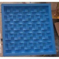 Forma De Silicone Para Gesso 3d Mosaico São Tomé Trançada