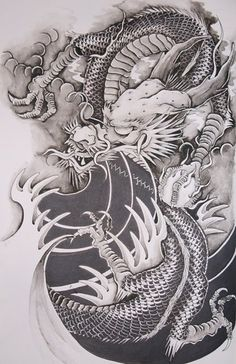 #chinese #dragon by ~brokenpuppet86 on deviantart