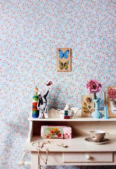 Pip Studio Cherry Blossom White wallpaper