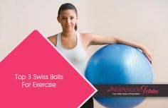 Swiss ball #exercises generally focus on the core muscles of the body – abdominal and back muscles. So if you're so keen on getting fit using these amazing balls, then here are the top 3 #swissballs you can choose from. #workout #pilates - Read more.. http://www.independentfemme.com/top-3-swiss-balls-for-exercise-on-amazon/