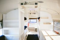 A converted bus for a family of six in Alaska.