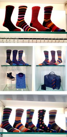 Showroom snapshots: Bugatchi Uomo socks in NEw York