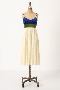Another Anthropologie dress... such beautiful details