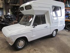 Reliant Fox Tandy Camper Van Motor Home Car Camper, Rv Campers, Camper Van, Classic Campers, Caravans, Vroom Vroom, Motorhome, Recreational Vehicles, Fox