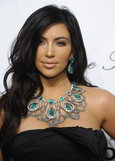 necklace kim kardashian