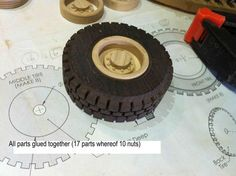Wooden toys wheel making #6: Rims part 2