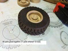 Wooden toys wheel making #6: Rims part 2 - by Dutchy @ LumberJocks.com ~ woodworking community