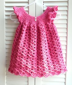 Pretty in Pink Pinafore 12 Mos Easter Spring Dress by CreateAWay, $45.00
