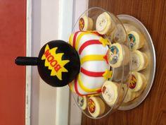 The 'danger mouse' themed cake