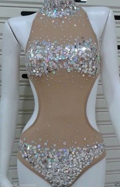 Sparkly Outfits, Rave Outfits, Sexy Outfits, Burlesque, Body Glitter Festival, Spandex Bodysuit, Custom Dance Costumes, Exotic Dance, Latin Dance Dresses