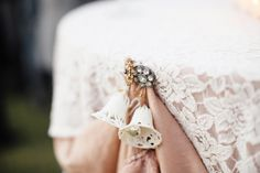 Perfect tiny details for a Shabby Chic wedding
