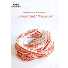 Marlene Loopschal, Kreativ-Ebook als Geschenk - farbenmix Online-Shop - Schnittmuster, Anleitungen zum Nähen