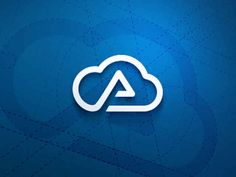 When you want to make a mark in the field of cloud logo design, it is important for you to have a complete understanding of the patterns and shapes used for Sky Logo, Logo Cloud, App Icon Design, Logo Design Inspiration, Design Ideas, Cloud Icon, Logo Samples, Logos Cards, Unique Logo