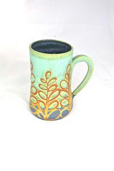 liz kinder pottery...love the colour & patterns