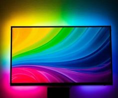 I have always wanted to add ambilight to my TV. It looks so cool! I finally did…