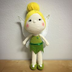 Tinkerbell Doll Amigurumi by Cranberries Knot on Etsy @anlady86 crochet