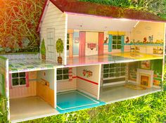 Metal dollhouse