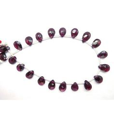 Loose Stone Beads Craft Supply 8 Strand Faceted Pear Shape Red Garnet Earth Mined Gemstone 7X9-7X11 Mm by BeadsncrystalsStudio https://www.etsy.com/listing/569934584/loose-stone-beads-craft-supply-8-strand?ref=rss&utm_campaign=crowdfire&utm_content=crowdfire&utm_medium=social&utm_source=pinterest