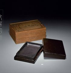 A fine inkstone formerly in the collections Shen Shiyou and Hashimoto Kansetsu, Qing dynasty