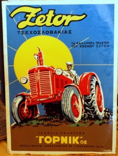 Vintage-Advertising-Tin-Sign-ZETOR-tractor