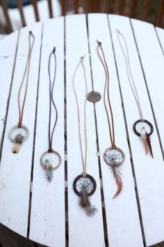 Dream Catcher Necklace by FelixAndAtlas on Etsy, $22.00