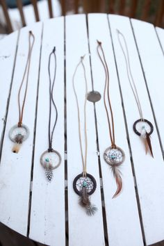 Dream+Catcher+Necklace+by+FelixAndAtlas+on+Etsy,+$22.00