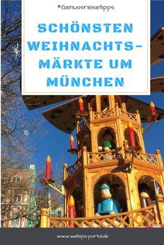 #Glühwein schlürfen, gebrannte #Mandeln naschen und sich nebenbei über #Schnee freuen. Die schönsten #Weihnachtsmärkte in München und um die Landeshauptstadt von #Bayern. Hier wird #Romantik #Genuss und Freude auf #Weihnachten groß. Ein schöner Aspekt im #Winter ist eine #Reise zu einem #Weihnachtsmarkt #Adventmarkt oder auch #Christkindlmarkt.  Die schönsten Weihnachtsmärkte in und um München. #Genussreisetipps