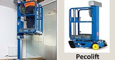 The Power #Tower #Ecolift & #Pecolifts are a simple, safe and efficient alternative to step-ladders, platform/ podium steps and small scaffold #towers.