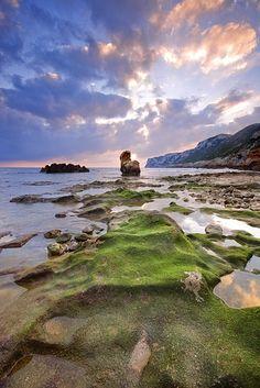 Playa de Les Rotes. Denia. Alicante