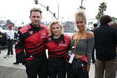 Chloe Moretz At Indycar 2017 Toyota Grand Prix In Long Beach