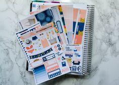 World Travel Sticker Kit -  Erin Condren vertical - Happy Planner - weekly sticker Kit - summer - vacation - beach - holiday by PrettyEasyPlanning on Etsy