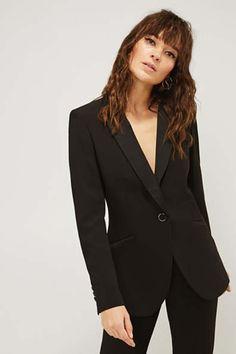 Blazer & Anzüge für Damen im Online Shop kaufen   ESPRIT Business Hose, Black Blazers, Mix Match, Satin, Jackets, Shopping, Collection, Detail, Entertainment