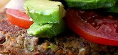 black bean sweet potato burger