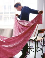 Just released: Isaac Mizrahi fabric collection #interiordesign