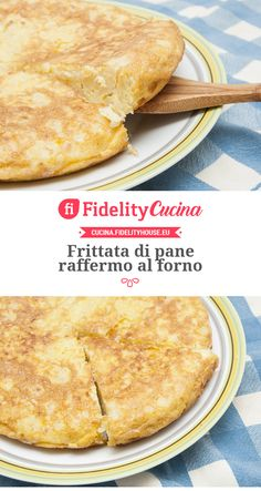 Frittata di pane raffermo al forno Muffins, Antipasto, Buffet, Cheesecake, Food And Drink, Pizza, Ethnic Recipes, Crepes, Foods