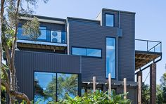 Futurewood EnviroSlat Cladding and Futurewood CleverDeck Decking installed at Blairgowrie Victoria.