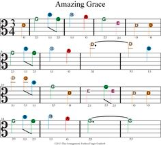 Learn easy beginner viola songs with Fretless Finger Guides®