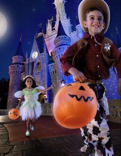 #MagicKingdom Halloween Trick or Treat