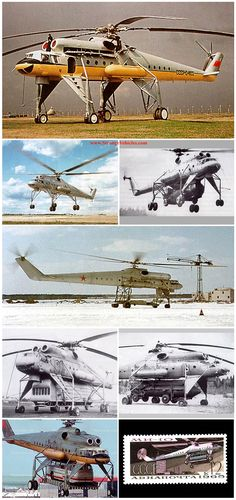 8 STRANGE RUSSIAN COMMERCIAL AND MILITARY CARGO HELICOPTERS