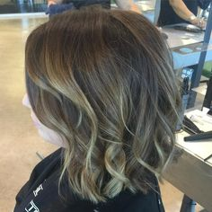 """""""Just a root touch up and a slight trim! The beauty of balayage is that you can go several months without having to touch up your highlights! #pmts…"""""""