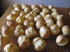 Bear Country Kitchen: Pate au Choux Finger Sandwiches