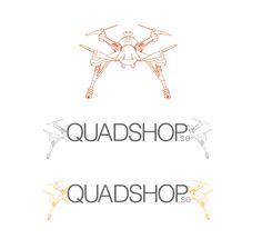quadrocopter & logotyp åt en polare. www.quadshop.se