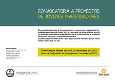 Convocatoria a Proyectos de Jóvenes Investigadores   Leer: http://www.unsj.edu.ar/vista_not.php?id_noticia=3056