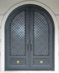 Texas | Manhattan Iron Door Co. #irondoors #custom #homedesign #wroughtiron