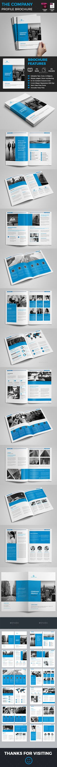Company Profile — InDesign INDD #annual report #business brochure • Download ➝ https://graphicriver.net/item/company-profile/18970067?ref=pxcr