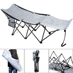 Folding Camping Cot Portable Adventure Camp Bed Cot Hammock Sleeping Steel W/bag - CONTINUE @ http://www.buyoutdoorgadgets.com/folding-camping-cot-portable-adventure-camp-bed-cot-hammock-sleeping-steel-wbag-3/?a=0158