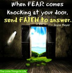 Faith quote via The Little Things in Life on Facebook at www.Facebook.com/LittleThingsInOurLife
