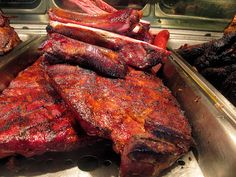 Ribs at Fargo's BBQ