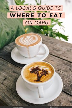 A local's guide to the best places to eat on Oahu, Hawaii. The best malasadas, shave ice, views, and more. Oahu Hawaii / Oahu Hawaii things to do in / Oahu Hawaii secrets / Oahu food guide / Oahu food restaurants / Honolulu Hawaii / Honolulu Hawaii things to do in / North Shore Oahu / Hawaii food guide / Oahu eats / best places to eat in Oahu / where to eat in Oahu / Waikiki Hawaii / #oahu #hawaii #foodguide #honolulu #waikiki Hawaii Usa, Honolulu Hawaii, Hawaii Travel, Maui, Honolulu Restaurants, Hawaii Things To Do, Shave Ice, North Shore Oahu